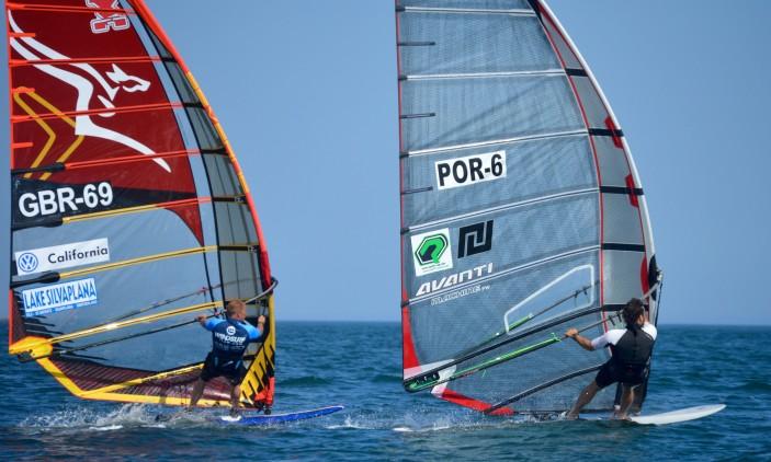 Europeu FW Portimão | David Coles, GBR 69; e Vasco Chaveca, POR 6 (®PauloMarcelino)