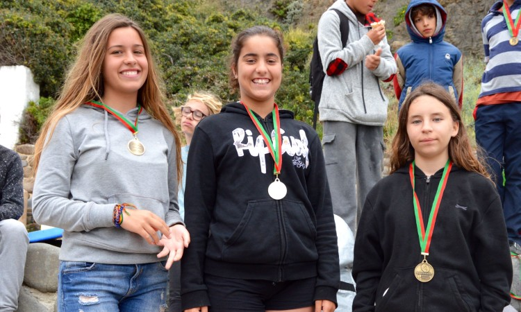 Pódio Espumas Feminino, 4º Encontro Regional (®PauloMarcelino)