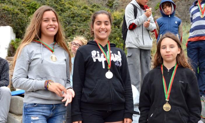 Arrifana   4º Encontro Regional Surf & Bodyboard Escolar   Pódio Espumas Feminino (®PauloMarcelino)