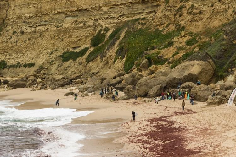 Etapa foi realizada na Praia da Foz, um 'secret spot' de Sesimbra (®SCS)