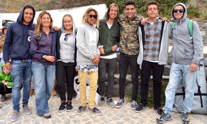 Arrifana   Seleção do Algarve ao Campeonato Nacional de Surf Escolar 2015/2016 (®PauloMarcelino)