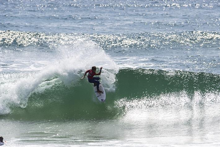 Durante dois dias, 128 surfistas estiveram em ação na Praia do Paraíso (®DR)