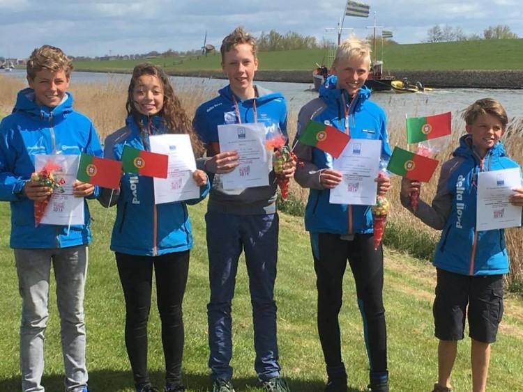 Equipa nacional da Holanda que chegou há dias a Vilamoura, para estagiar (®optimistworlds2016)