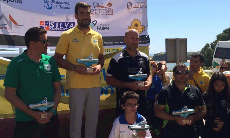 Grupo Desportivo de Alcoutim vice-campeão regional do Sul Maratona. Kayak Clube Castores do Arade no 3º lugar do pódio. Clube Náutico do Litoral Alentejano campeão regional (®CNLA)