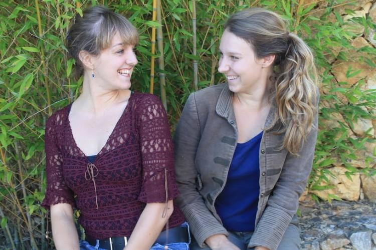 Irmãs Femke e Bo Irik fundaram a SeaBookings em 2014 (®DR)
