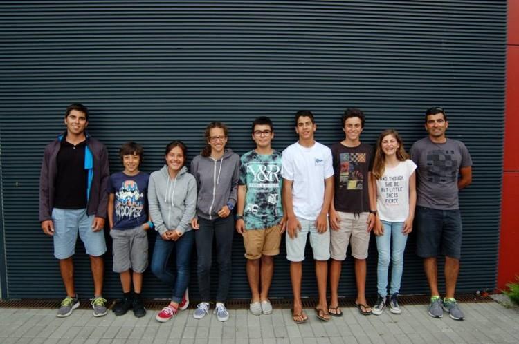 Comitiva do Clube de Vela de Lagos na Prova de Apuramento Nacional em Viana do Castelo (®CVVC)