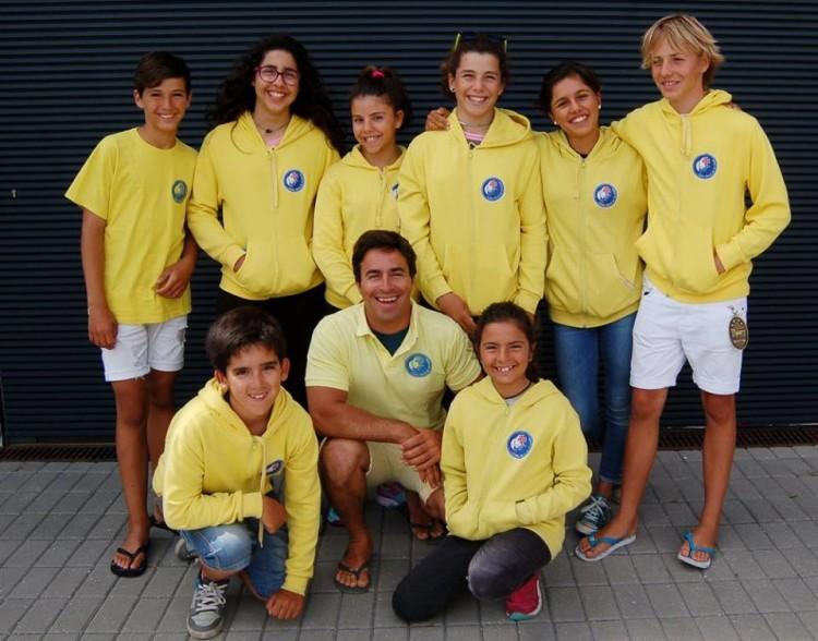 Comitiva do Clube Naval de Portimão na Prova de Apuramento Nacional em Viana do Castelo (®CVVC)