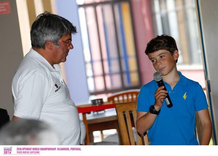 Algarvio Guilherme Cavaco continua a ser 'o capitão' português em Vilamoura (®MatiasCapizzano)