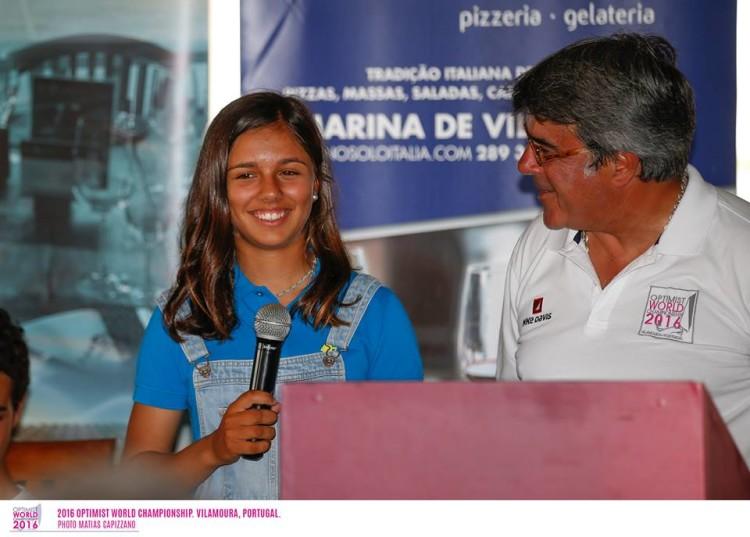 Beatriz Gago é a 5ª melhor rapariga e está na luta pelo pódio feminino (®MatiasCapizzano)