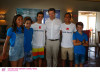 National Team Portugal has two sailors from the Algarve: Beatriz Gago and Guilherme Cavaco, last to the right (®Matias Capizzano)
