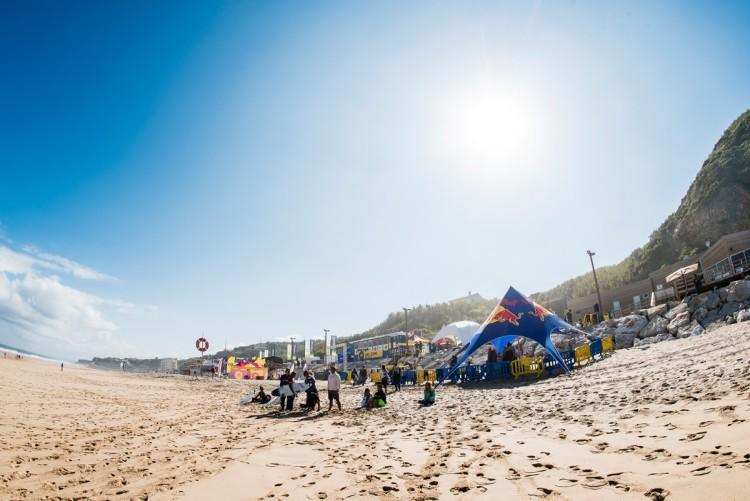 Algarvios não se deram bem na Praia Grande (®PedroMestre/ANS)