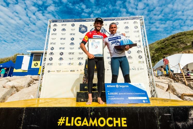 Frederico Morais derrotou Vasco Ribeiro na final feminina (®PedroMestre/ANSurfistas)