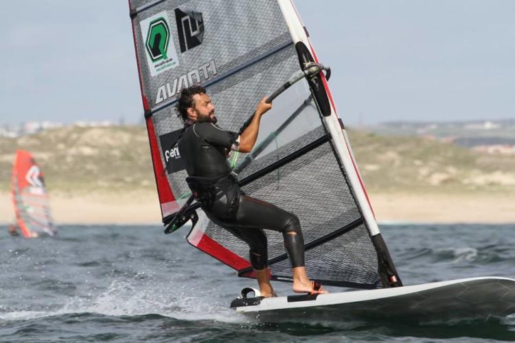 Vasco Chaveca lutou pelo 2º lugar em Peniche até à última regata (®AFWP)