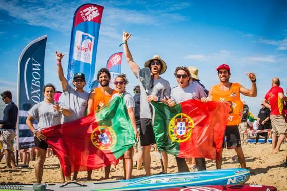 Primeiro Europeu de SUP + primeira Seleção de Portugal de SUP = Medalha de Bronze (®FPS)