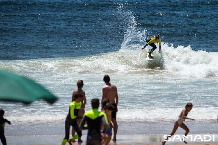 Etapa juntou 101 surfistas na Praia do Paraiso (®SamadiCaparicaSurfCenter)
