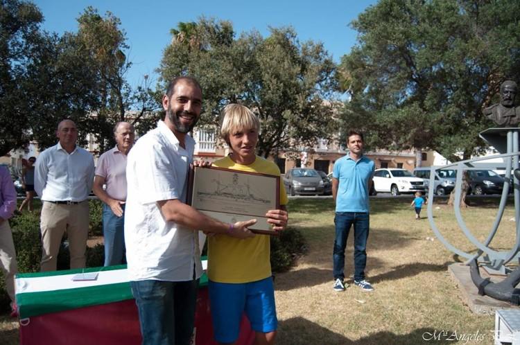 Daniel Cristiano, CNPortimão, vencedor absoluto, Sub-16 e do Troféu Almirante Cervera (®DR)