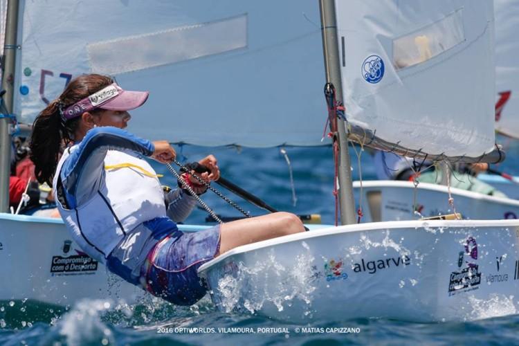 Beatriz Gago deverá ter feito o melhor resultado feminino português (6º) de sempre (®MatiasCapizzano)
