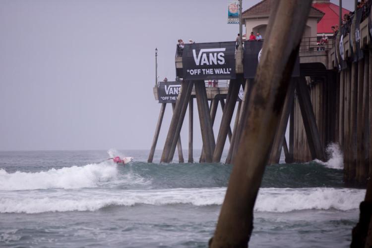 Começou hoje a ação no quadro principal do QS 10.000 Vans US Open of Surfing (®JacksonVanKirk/WSL)