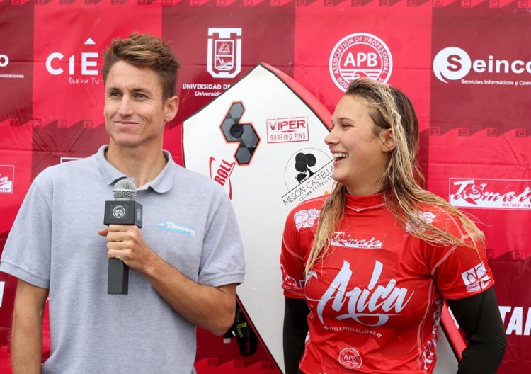 Entrevistada por Dave Hubbard, Alexandra Rinder disse que o 10 de hoje foi o seu primeiro (®APB)
