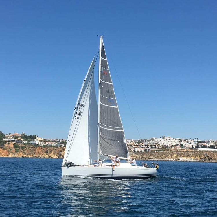 'X-Online', vencedor da 24ª Volta ao Algarve à Vela (®ManuelBelchior)