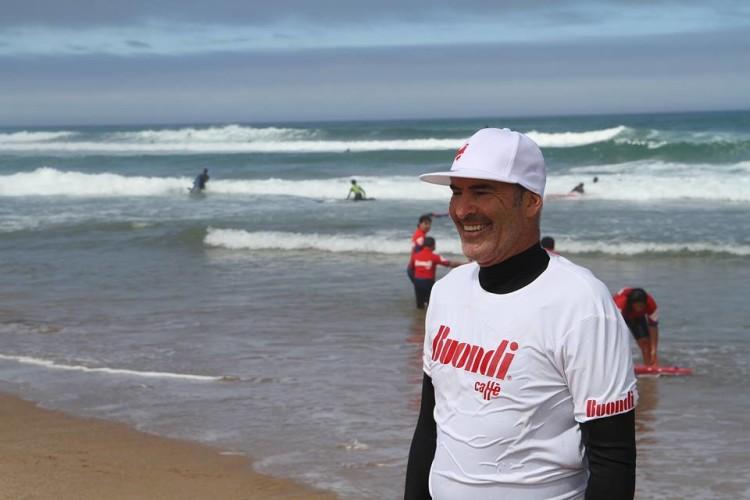 Garrett McNamara vem ao Algarve realizar a última Buondi Surf Session 2016 (®Buondi)