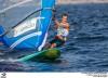 João Rodrigues ficou ontem a dois pontos de entrar na regata das medalhas em prancha à vela olímpica RS:X e vai hoje tentar atingir o objetivo (®FPV)