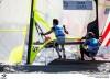 Jorge Lima e o algarvio José Costa foram os últimos velejadores portugueses em ação no JO Rio 2016. A dupla portuguesa fez 15º na Classe 49er (®FPV)