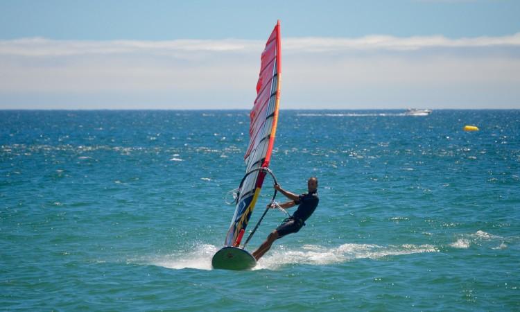 Miguel Martinho diz que vai desistir de competir em Slalom Windsurfing (®PauloMarcelino/Arquivo)