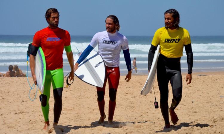 João Cardoso, à esquerda, e John Junior, à direita, foram finalistas Open (®PauloMarcelino)