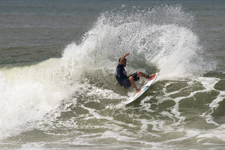 Eduardo Fernandes, atleta do Algarve Surf Clube, foi eliminado ao sexto dia de prova (®Jimenez/ISA)