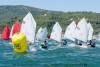 Ética Porto, POR 83; e Diogo Garcia, POR 82, do CNTavira, comandam a frota Infantil após primeiro dia do Campeonato de Portugal em Setúbal (®FPV/LuisFraguas)