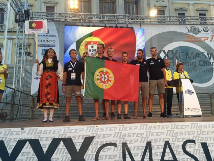 Seleção de Portugal ao Mundial de Pesca Submarina na Ilha Syros, Grécia (®FPAS)