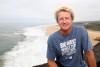 Bill Sharp. general manager da Big Wave World Tour esteve na Nazaré, para preparar o evento na Praia do Norte (®DR)