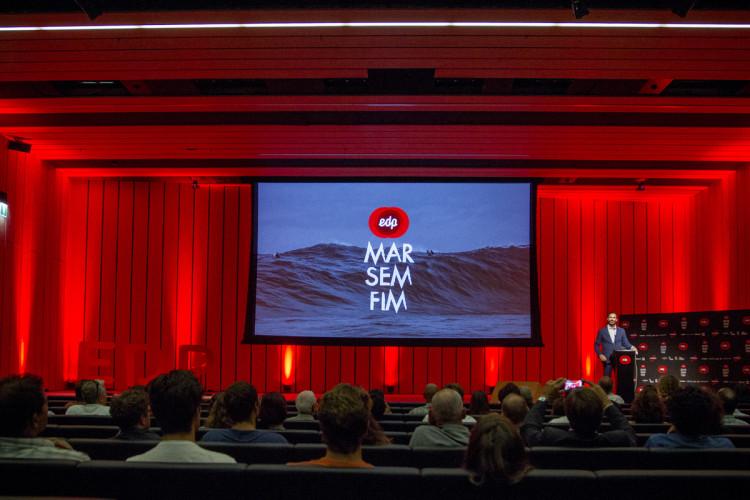 Projeto EDP Mar Sem Fim apresentou 3ª edição com a promessa de alargar a procura de ondas grandes a todo o Portugal (®DR)