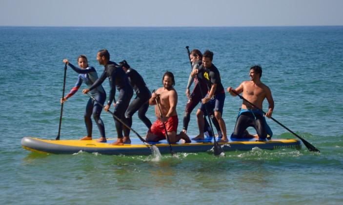 Aniversário Big SUP de Carlos Barão | Praia da Rocha, 28-09-2016 | À procura das ondas (®PauloMarcelino)