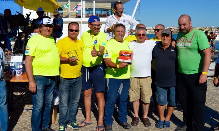 Festa CNPortimão   Nova equipa de pesca de alto mar em barco fundeado (®PauloMarcelino)