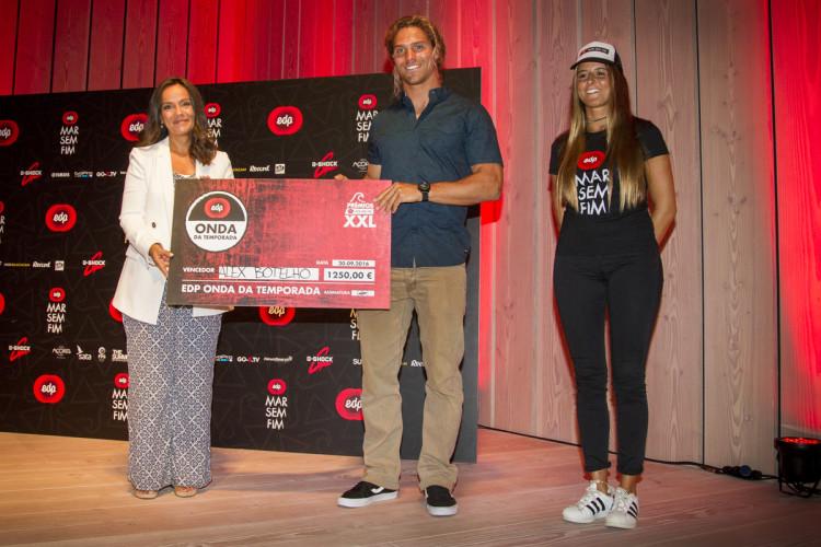 Prémio EDP Onda da Temporada foi ganho por Alex Botelho com uma onda na Nazaré (®MarSemFim)