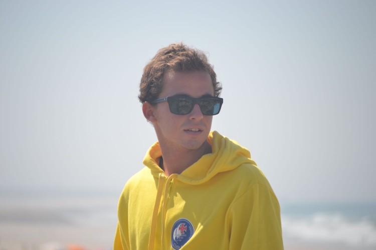António Silveira, do Clube Naval de Portimão, está satisfeito por ter feito pontuações fortes no Cabedelo (®DR)
