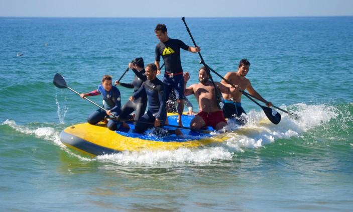 Aniversário Big SUP de Carlos Barão | Praia da Rocha, 28-09-2016 | 1ª tentativa (®PauloMarcelino)