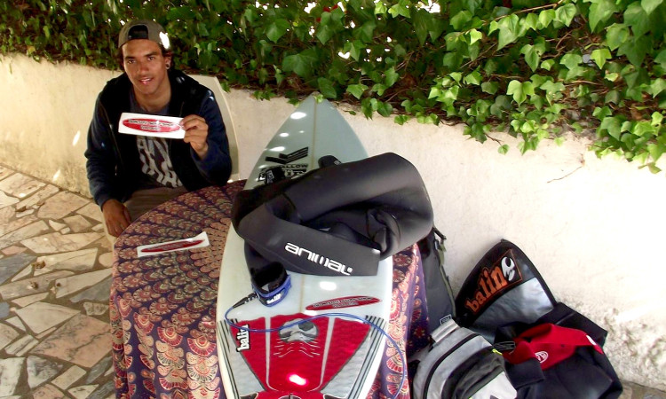 Aos 19 anos de idade, Francis consegue o seu primeiro patrocínio principal e tenta relançar a carreira (®DR)