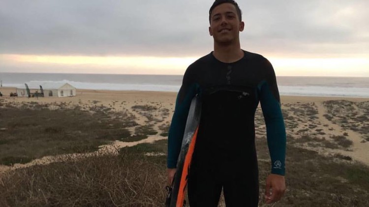 Algarvio Gonçalo Pinheiro ocupa a 32ª posição no 'ranking' mundial masculino, a uma etapa do fim do circuito para os homens (®DR)