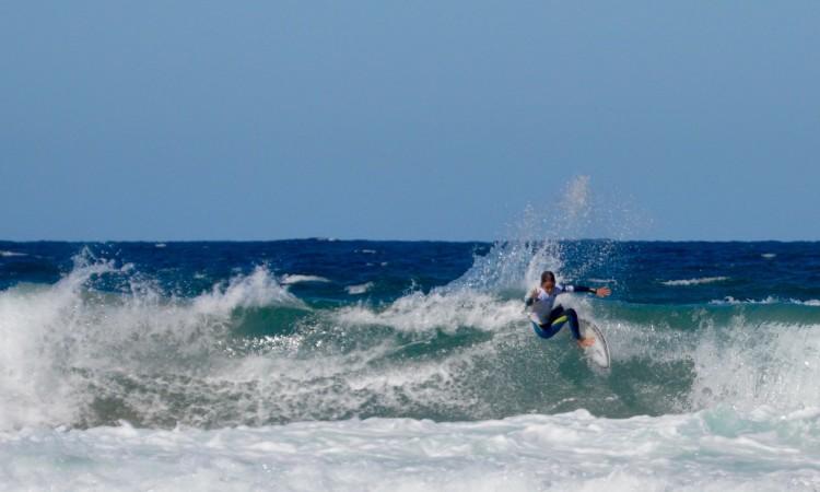 Lourenço Sousa, finalista vencido, foi o melhor da outra metade do quadro de competição (®PauloMarcelino)