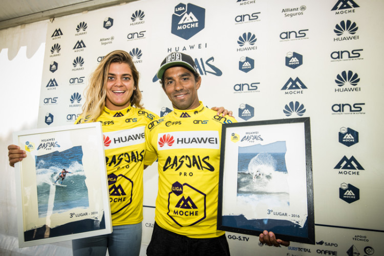 Os irmãos Carol e Pedro Henrique são os novos campeões nacionais, feminino e masculino, de surf open (®PedroMestre/ANSurfistas)