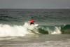 Martim Nunes em ação na Praia da Lagoa de Albufeira, onde venceu em Surf Sub-12, Sub-14 e Sub-16 (®SCS)