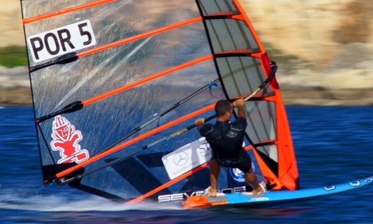 Miguel Martinho venceu metade das regatas disputadas no Campeonato de Espanha (®SurfariMarMenor)