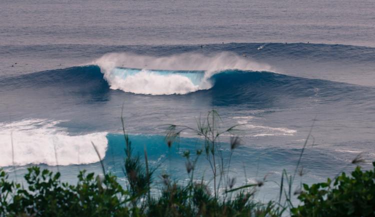 'Jaws', na costa Norte da Ilha de Maui, Hawai, é uma das mais conhecidas ondas grandes (®DR)