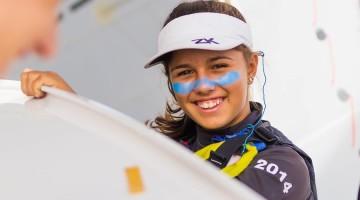 Beatriz Gago repetiu em Vigo (na foto) o 2º lugar Feminino A alcançado há uma semana em Viana do Castelo e garantiu a vitória nas contas das duas etapas (®LuisFraguas)
