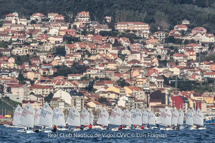 2ª Etapa da Semana do Atlântico decorreu em Vigo, nos dias 29 a 31 de outubro, com um total de 270 velejadores de oito países (®LuisFraguas)
