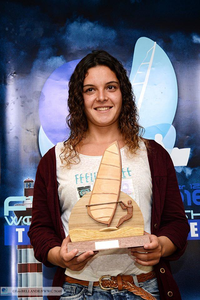 Margarida Gil Morais, a única mulher em prova (®EriceBellande/fwwc2016)