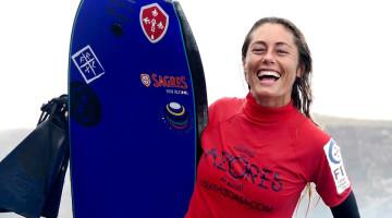 Joana Schenker celebra vitória nos Açores. Algarvia termina o ano campeã nacional e europeia e top 4 mundial (®DR)